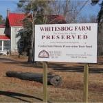 Ferma Whitessbog în 2008, din 1982 sub protecția statului New Jersey